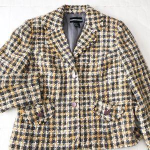 Requirements tweed blazer